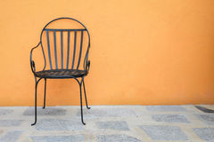 Chairs placed outside Royalty Free Stock Images