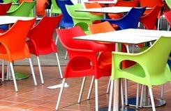 chairs plast- Arkivfoton