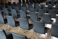 Chairs in the presentations hall Stock Images