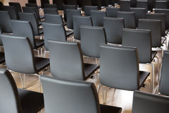 Chairs in the presentations hall Stock Photography