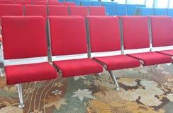 chairs red arkivbild
