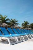 Chairs on a Resort. Montego Bay Jamaica Grand Palladium Lady Hamilton Resort Royalty Free Stock Photos