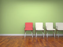 Chairs in a room Stock Images