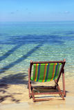 Chairs by the sea Stock Image