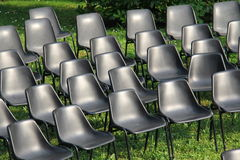 Chairs of show Royalty Free Stock Photo