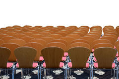 Chairs and space. Established chairs and lots of space for your text space Royalty Free Stock Image