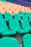 chairs stadion Royaltyfri Foto