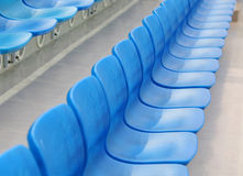 Seat in Stadium Royalty Free Stock Photography