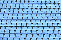 Chairs in stadium Stock Photos