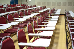 Chairs for students Royalty Free Stock Image