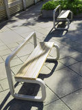 Chairs and sunlight Royalty Free Stock Image