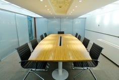 chairs tabellen för konferensmötelokal Fotografering för Bildbyråer
