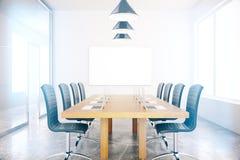 chairs tabellen för konferensmötelokal Arkivbilder