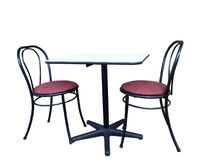 Chairs and Table Royalty Free Stock Photography