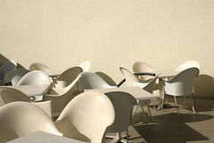 Chairs and tables Stock Photo