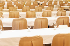 Chairs and Tables Stock Image