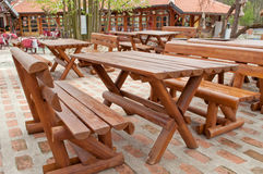 Chairs and tables Royalty Free Stock Photography