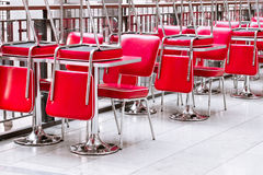 Chairs and tables Royalty Free Stock Image