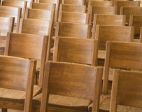 chairs trä Royaltyfria Foton