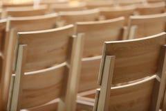 chairs trä Royaltyfri Bild
