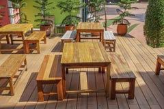 chairs trä Arkivfoton