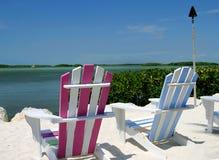 chairs tropiskt Arkivbilder