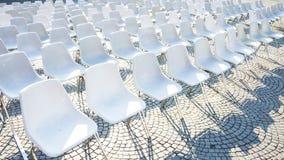 chairs utomhus- Arkivbild