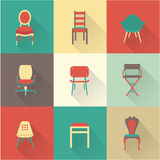 Chairs stock illustration