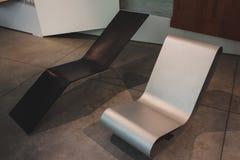 Chairs at Ventura Lambrate space during Milan Design week Royalty Free Stock Photo