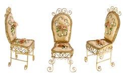 chairs victorianen Royaltyfri Bild