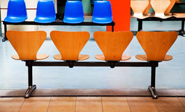 Chairs in a waiting room. Stock Image