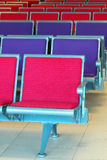 Chairs in waiting room. Empty chairs in waiting room Royalty Free Stock Photos