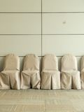 Chairs in the waiting room at convention center Stock Photography