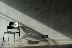 Chairs and wall Royalty Free Stock Images