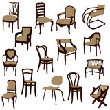 Chairs. Royalty Free Stock Images