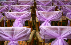 Chairs and yarn(click image to zoom) Royalty Free Stock Photos