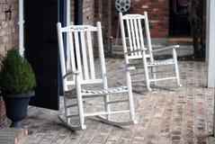 Chairss oscilante Fotos de archivo libres de regalías