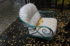 Chaise photo stock