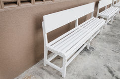 Chaise blanche Photo stock