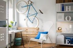 Chaise confortable et confortable photographie stock libre de droits