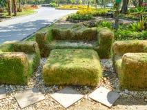 Chaise d'herbe Images libres de droits