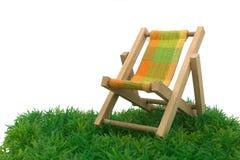 Chaise da praia Fotografia de Stock Royalty Free