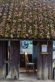 Chaise dans le corps de garde pendant le matin chez Umphang en Tak Province en Thaïlande du nord-ouest Photo stock