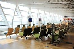 chaise dans le nouvel aéroport Chitose Hokkaido Japan de Chitose Photographie stock libre de droits