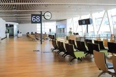 chaise dans le nouvel aéroport Chitose Hokkaido Japan de Chitose Photos libres de droits