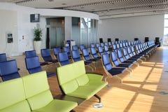 chaise dans le nouvel aéroport Chitose Hokkaido Japan de Chitose Photographie stock