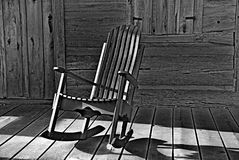 Chaise de basculage image libre de droits