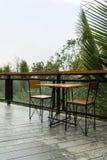 Chaise de cadre en acier Images stock