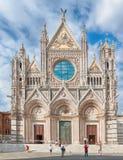 Chaise de Duomo de Siena Tuscany Cathedra image stock