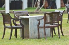 Chaise de jardin Photographie stock libre de droits